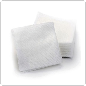 "Intrinsics® Organics Cotton Wipes 4"" x 4"""