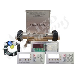 CONTROL: JR BUNDLE WITH 1.0KW HEATER, KP1015 TOPSIDE AND CORDS