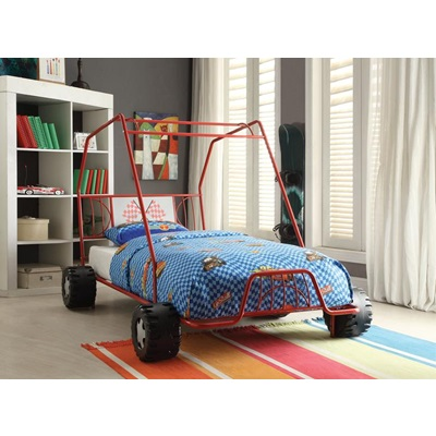 37645T XANDER RED TWIN BED