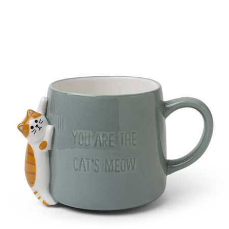 Mug - The Cat's Meow Blue