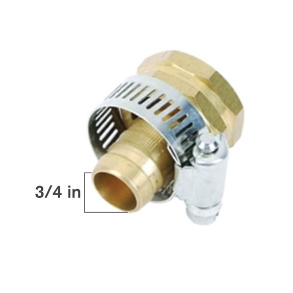 "3/4"" Brass Female Coupler -BOOK"
