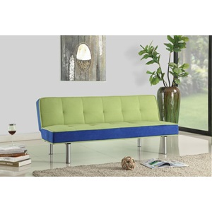 57135 GREEN ADJUSTABLE SOFA