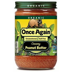 Organic Peanut Butter, Smooth