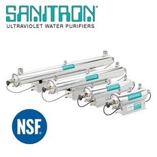 SANITRON® Ultraviolet Water Purifiers 3-416 GPM