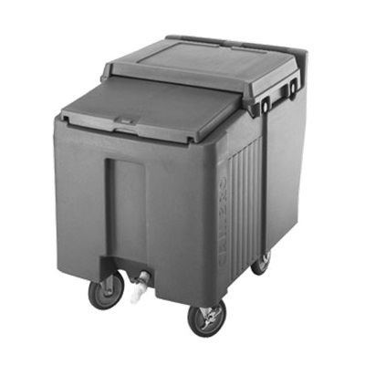 Cambro ICS125L131 Brown SlidingLid Short Ice Caddy