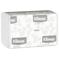 01500 KC KLEENEX WHITE CFOLD TOWEL,