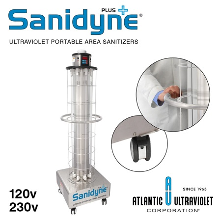 Sanidyne Plus UV Air and Surface Sanitizer