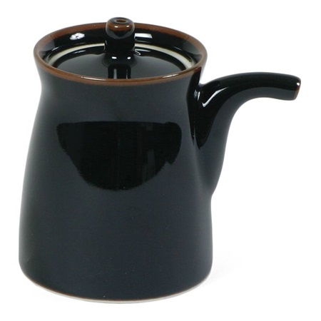 Mori 5 Oz. G-Type Sauce Pot - Black