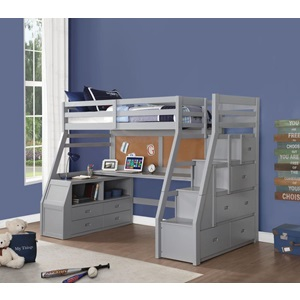 37445 JASON II TWIN LOFT BED