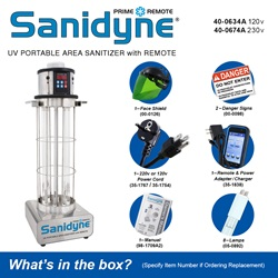 Sanidyne Prime Remote - What's in the box?