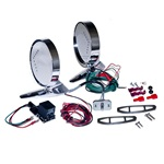1964-66 Mustang Deluxe Remote Mirror Kits with LED indicators