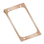 Base Plate Gasket, w/Adhesive