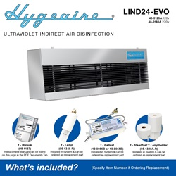 Hygeaire LIND24-EVO Model What's Included
