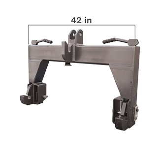 "CAT 2-3, 42"" 3pt Quick Hitch"