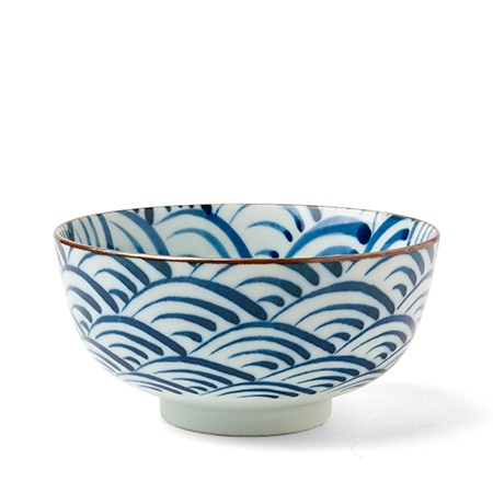 "Saikai Nami Waves 5.5"" Bowl"