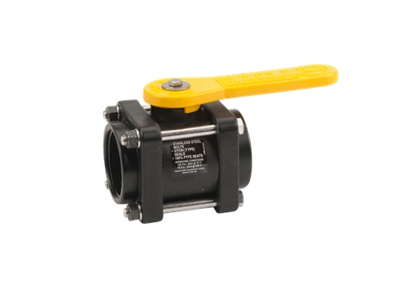 "2"" Banjo Standard Port Ball Valve - 4 Bolt - Polypropylene"