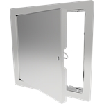 Architectural Access Door with Flange, Stainless Steel