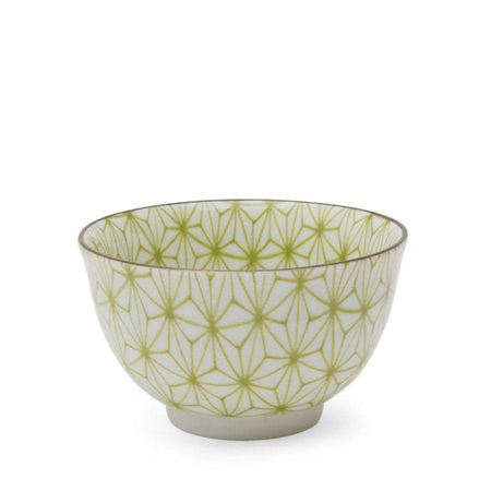 Asanoha Colors 5 Oz. Teacup - Green
