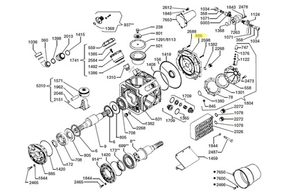 cci udor parts for pumps