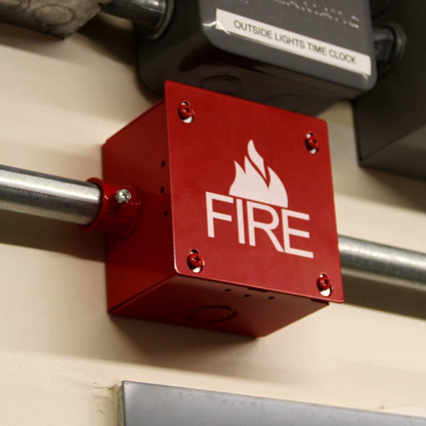 Space Age Electronics Inc Fb4 Fire Alarm Box