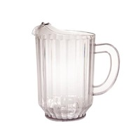FSE 32 oz (1 Qt) Clear Plastic Pitcher (Small)