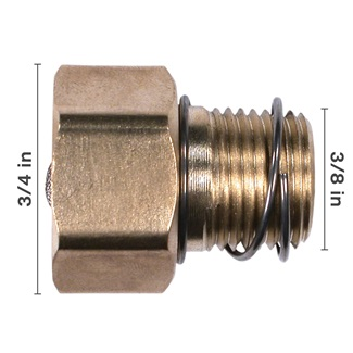 "3/8"" Adapter Strainer"