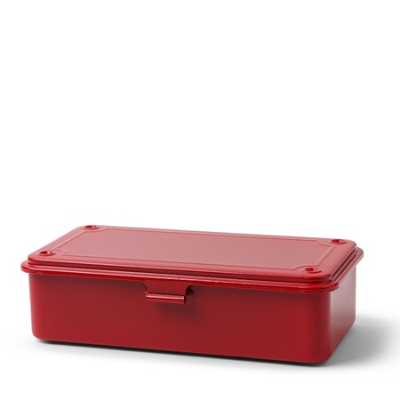 Toyo Steel Toolbox Small Red