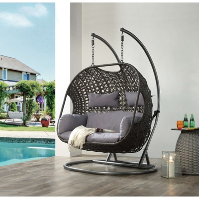 45084 Vasta Patio Swing Chair with Stand