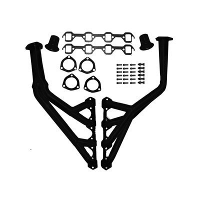 1964-68 Mustang Modified Tri-Y Headers (Black painted)