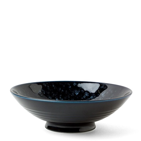 "Uchuu Deep Blue 9.5"" Serving Bowl"