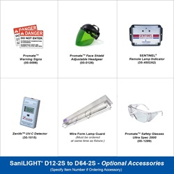SaniLIGHT Optional Accessories