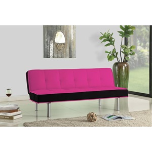 57137 PINK ADJUSTABLE SOFA