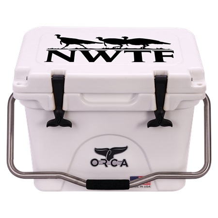 NRA white 20qt ORCA Cooler