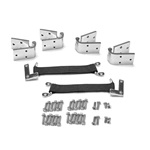 66-77 Bronco Removable Stainless Steel Door Hinge Kit
