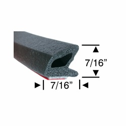 Peel-N-Stick Medium Hollow Triangular with Lip - 5ft, 10ft, 15ft & 30ft