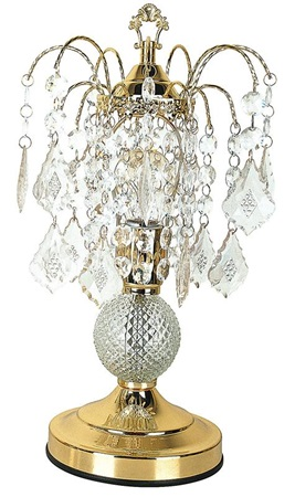 03152A CRYSTAL TABLE LAMP