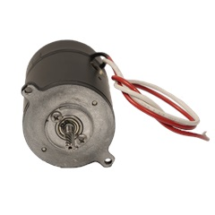 Blue-White Replacement 24v DC Motor Front View
