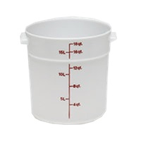 Cambro Poly 18 qt. Round Food Storage Containers