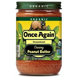 Organic Peanut Butter, Creamy (With Salt)