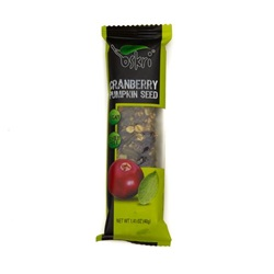 Nut Bar, Cranberry/Pumpkin Seed - 1.4oz (Box of 12)