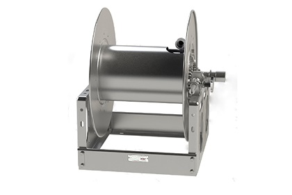 "Hannay 6000 Series Right Side Manual Hose Reel | 1"" x 200'"