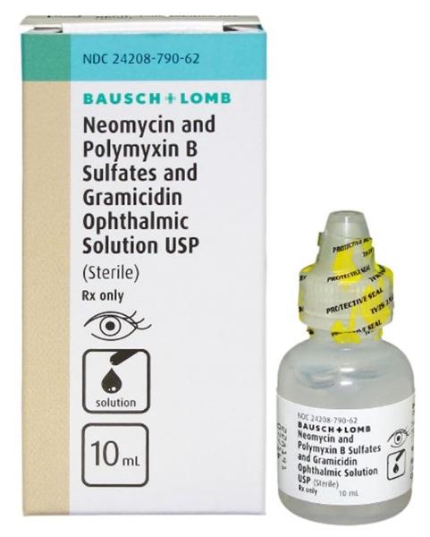 Neomycin And Polymyxin B Sulfates Dexamethasone Ophthalmic