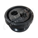 "JET INTERNAL: 1-1/2"" MPT ROTATING EYEBALL ASSEMBLY BLACK"