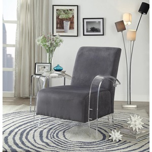 59586 CHARCOAL ACCENT CHAIR