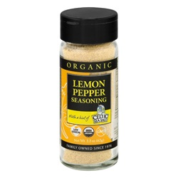 Organic Lemon Pepper Seasoning (2.2 oz)