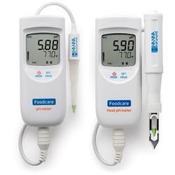 Portable Food & Dairy and Meat pH Meters (Hanna Instruments)