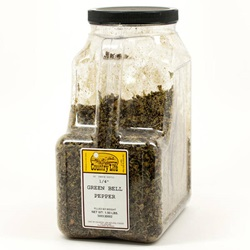 Pepper, Green Bell - Dried