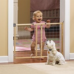 "GuardMaster® II Std. Wire Mesh Swing Gate, Hrdw. Mounted ""TOS"""