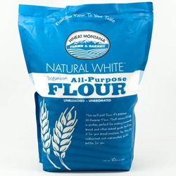 White Flour, Natural Premium Unbleached (10lb Bag)