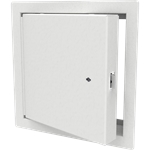 Uninsulated Fire-Rated Access Door, Knurled Knob